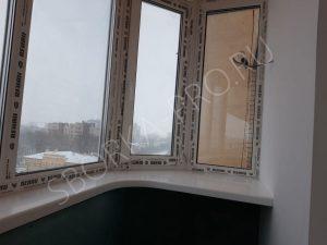 подоконник столешница на балконе