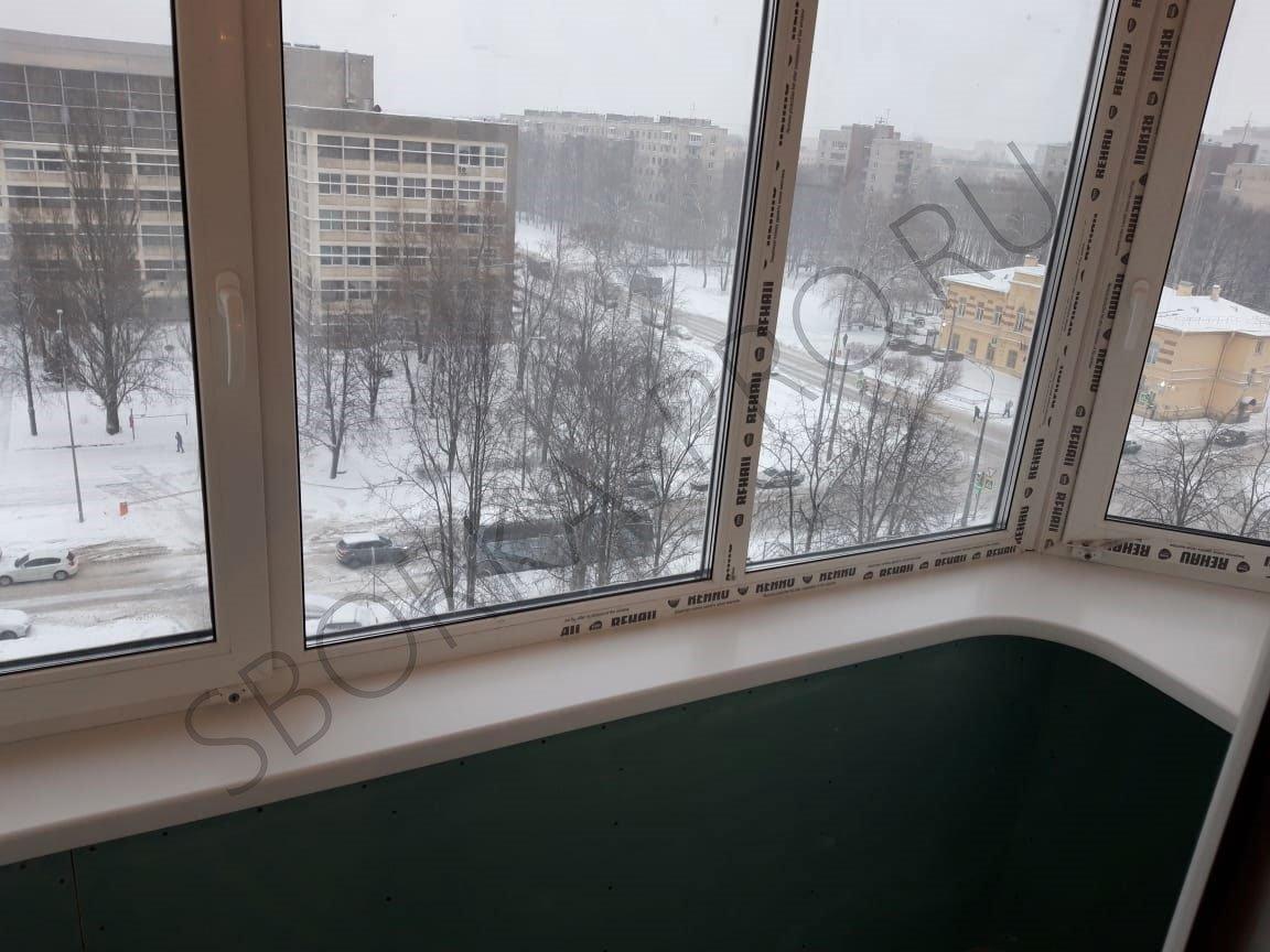 столешница на балкон вместо подоконника