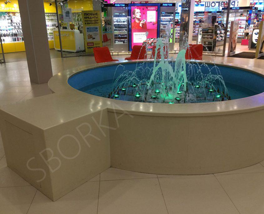 фонтан из искусственного камня