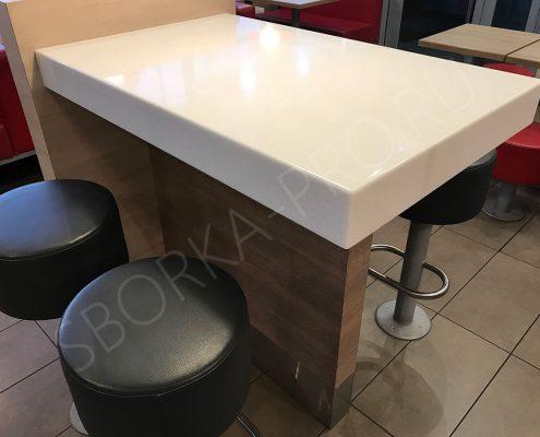 стол-стойка для посетителей ресторана