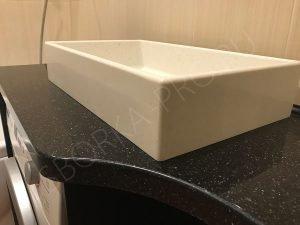 закругление на столешнице в ванну