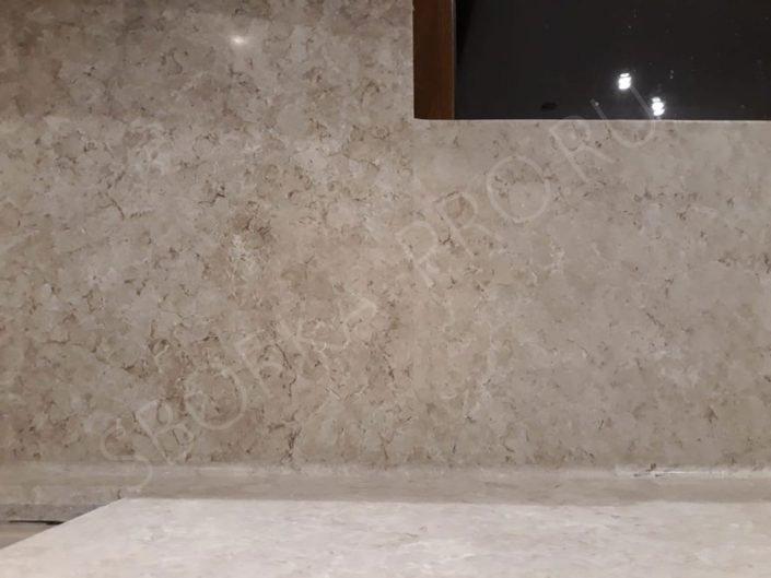 Стеновая панель из искусственного камня