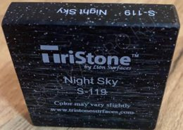 Царапины на искусственном камне Tristone