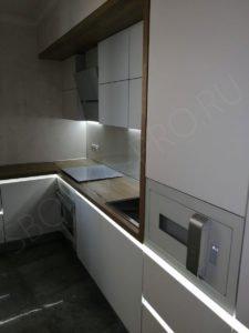 Кухня с профилем GOLA LED
