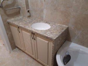 столешница для ванной из искусственного камня NeoMarm