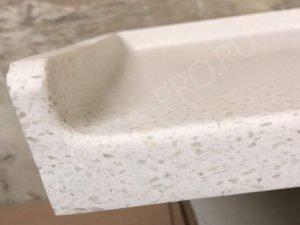 Плинтус столешницы из искусственного камня