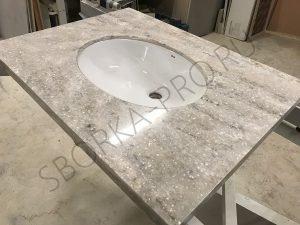 Столешница для ванной из искусственного камня LG hi-macs M201 TERNI