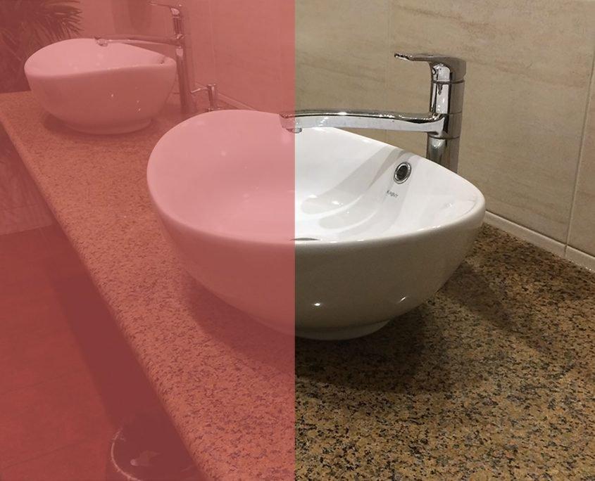 Столешницы для ванных комнат