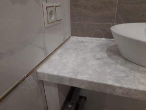 столешница для ванной из искусственного камня apietra