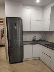 кухня шкафы под потолок